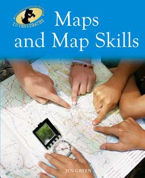 Green, J: Geography Detective Investigates: Maps and Map Ski imagine