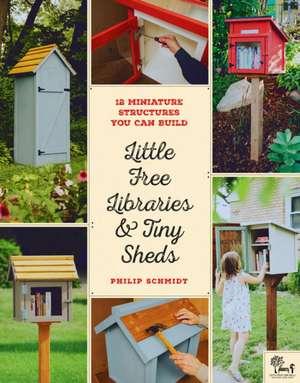 Little Free Libraries & Tiny Sheds de Philip Schmidt