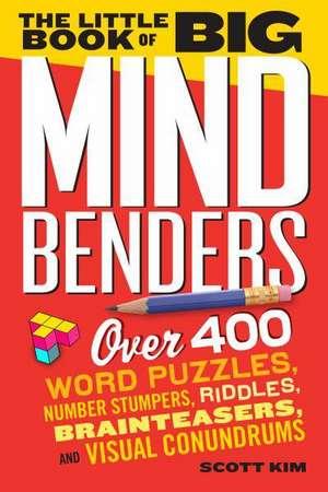 The Little Book of Big Mind Benders de Scott Kim