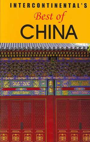 Intercontinental's Best of China de Eugene Law