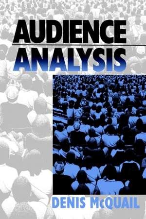 Audience Analysis imagine