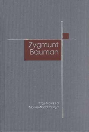Zygmunt Bauman de Peter Beilharz