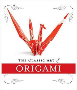 The Classic Art of Origami Kit de John Morin
