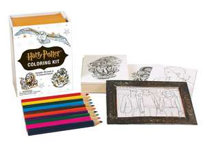 Set de colorat Harry Potter Colouring Kit de Running Press