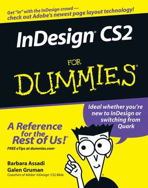 InDesign CS2 For Dummies de Barbara Assadi