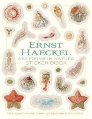 Ernst Haeckel Art Forms in Nature Sticker Book de Ernst Haeckel