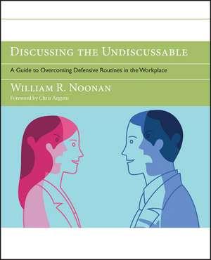 Discussing the Undiscussable imagine