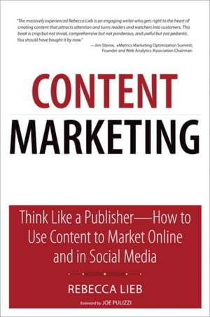 Content Marketing de Rebecca Lieb