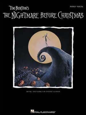 Tim Burton's the Nightmare Before Christmas: P/V/G de Danny Elfman