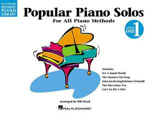 Popular Piano Solos - Level 1: Hal Leonard Student Piano Library for All Piano Methods de Phillip Keveren