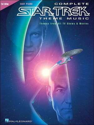Complete Star Trek Theme Music: Themes from All TV Shows and Movies de Hal Leonard Corp