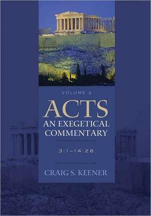 Acts, Volume 2: 28 [With CDROM] de Craig S. Keener