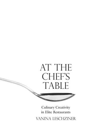 At the Chef's Table