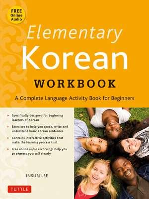 Elementary Korean Workbook imagine