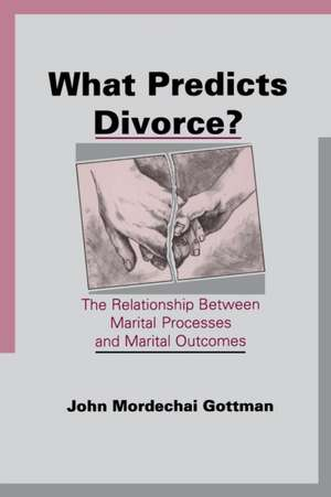 What Predicts Divorce? imagine