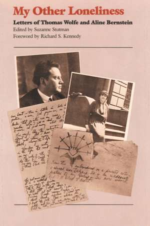 My Other Loneliness de Thomas Wolfe