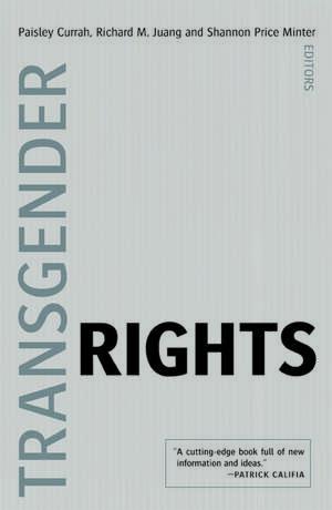 Transgender Rights de Paisley Currah