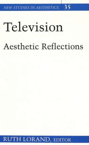 Television, Aesthetic Reflections:  Not in My District de Ruth Lorand