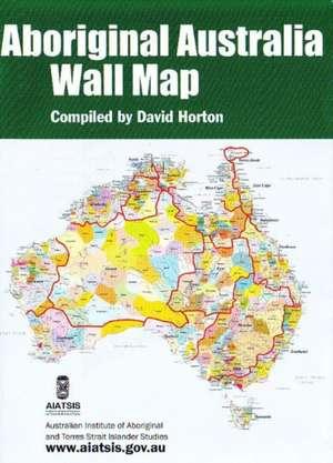 Aboriginal Australia Wall Folded Map: Small