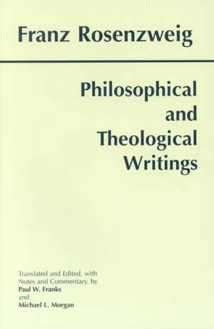 Philosophical and Theological Writings imagine
