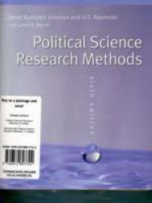 Political Science Research Methods, 6th Edition + Working with Political Science Research Methods, 2nd Edition de Janet B. Johnson