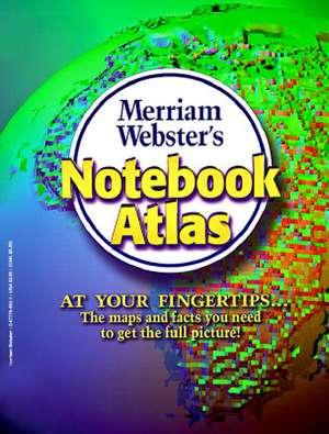 Merriam-websters Notebook Atlas