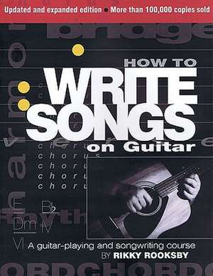 How to Write Songs on Guitar imagine