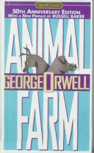 Animal Farm:  A Fairy Story de Russell Baker