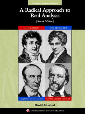 A Radical Approach to Real Analysis imagine
