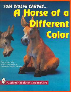 Tom Wolfe Carves A Horse of a Different Color imagine