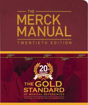 The Merck Manual of Diagnosis and Therapy de Merck Editor