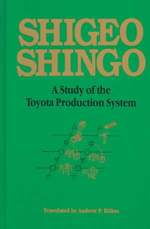 Study of the Toyota Production System:  From an Industrial Engineering Viewpoint de Shigeo Shingo