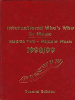 International Who's Who In Music de Sean Tyler