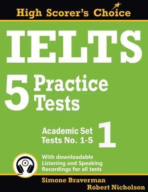 IELTS 5 Practice Tests, Academic Set 1
