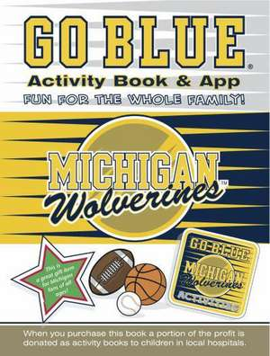 Go Blue Activity Book & App