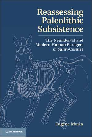 Reassessing Paleolithic Subsistence: The Neandertal and Modern Human Foragers of Saint-Césaire de Eugène Morin