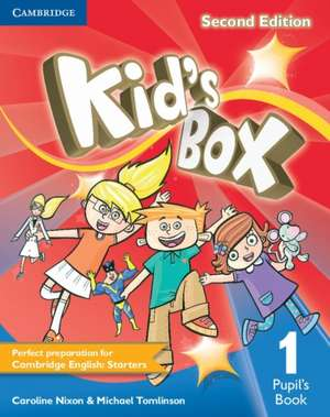 Kid's Box Level 1 Pupil's Book de Caroline Nixon