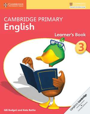 Cambridge Primary English Stage 3 Learner's Book de Gill Budgell