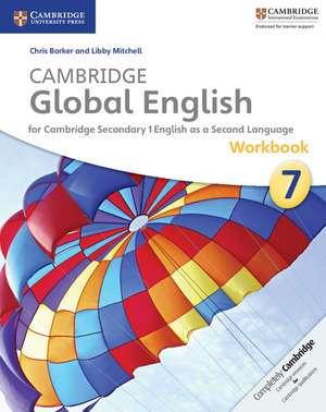 Cambridge Global English Stage 7 Workbook de Chris Barker