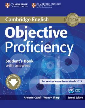 Objective Proficiency Student's Book with Answers with Downloadable Software imagine
