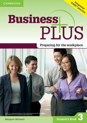 Business Plus Level 3 Student's Book imagine