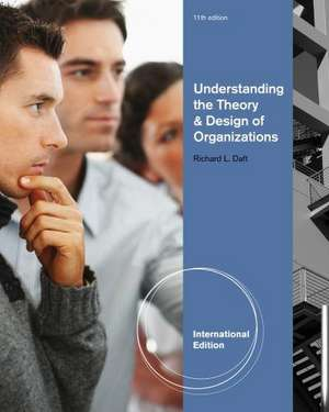 Understanding the Theory and Design of Organizations, International Edition