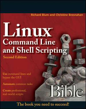 LINUX COMMAND LINE & SHELL-2E