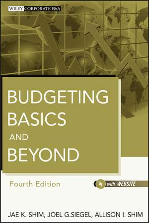 Budgeting Basics and Beyond de Jae K. Shim