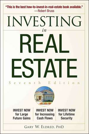 Investing in Real Estate de Gary W. Eldred
