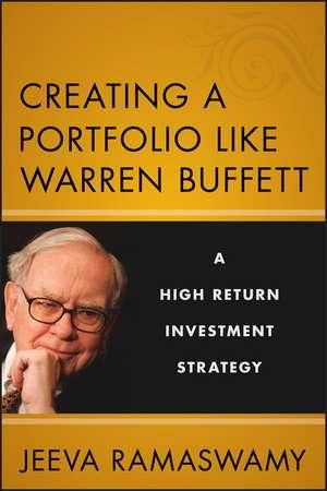 Creating a Portfolio like Warren Buffett imagine