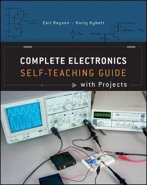 Complete Electronics Self–Teaching Guide with Projects de Earl Boysen