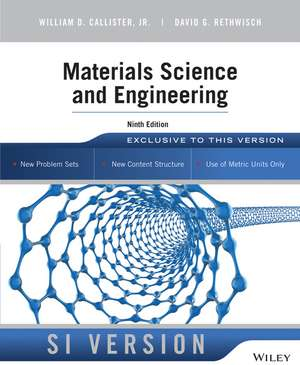 Materials Science and Engineering de William D. Callister, Jr.