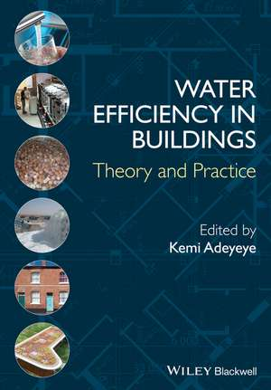 Water Efficiency in Buildings: Theory and Practice de Kemi Adeyeye