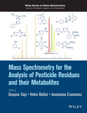 Mass Spectrometry for the Analysis of Pesticide Residues and their Metabolites imagine